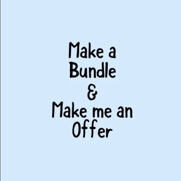All reasonable offers considered 😊